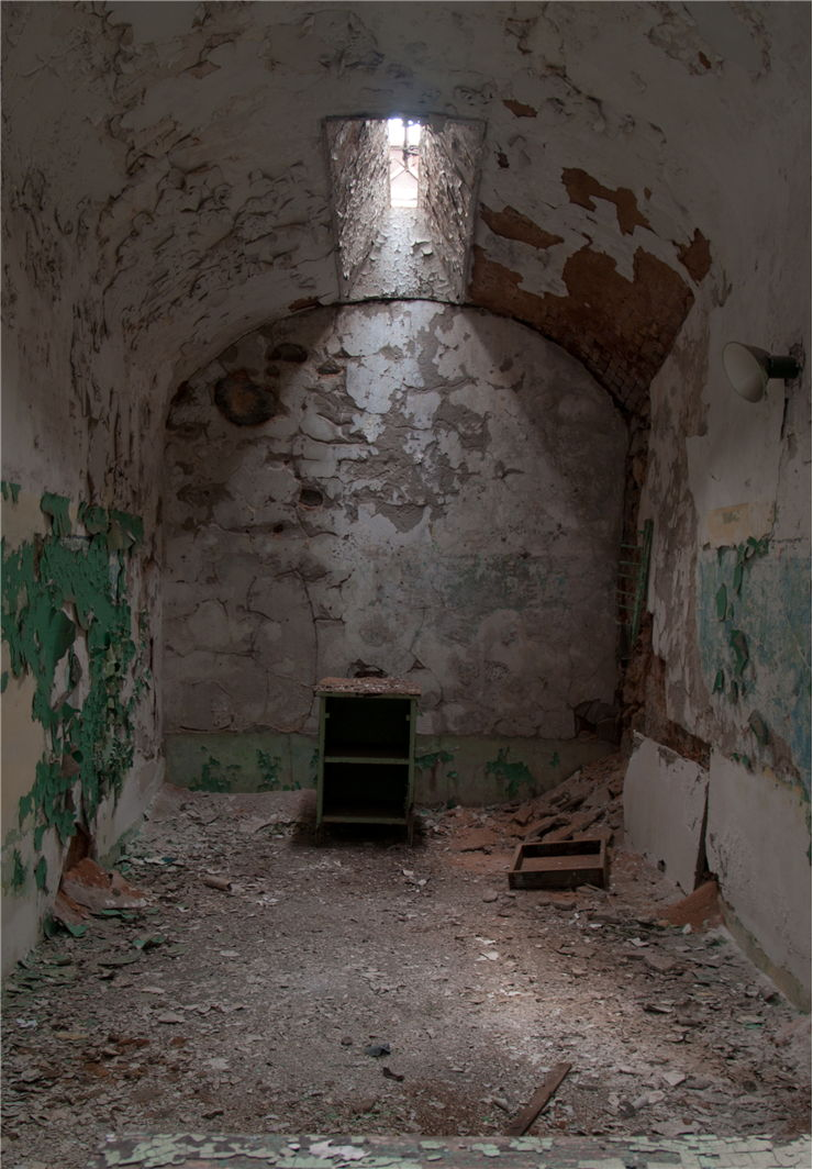 Picture Of A Rotting Prison Cell