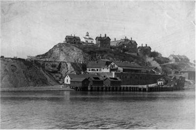 Picture Of Alcatraz 1895