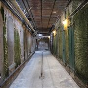 Picture Of Alcatraz Corridor