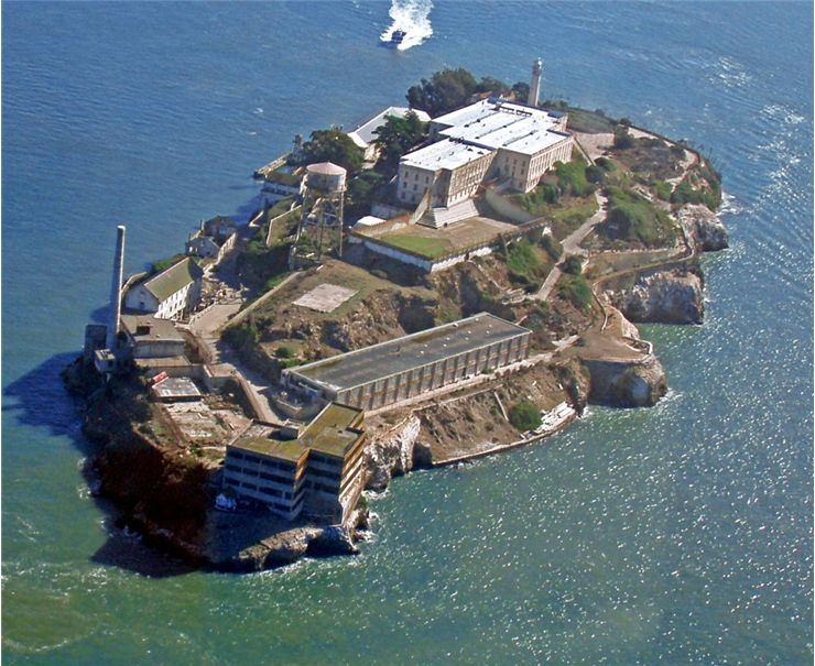 Picture Of Alcatraz Prison Island