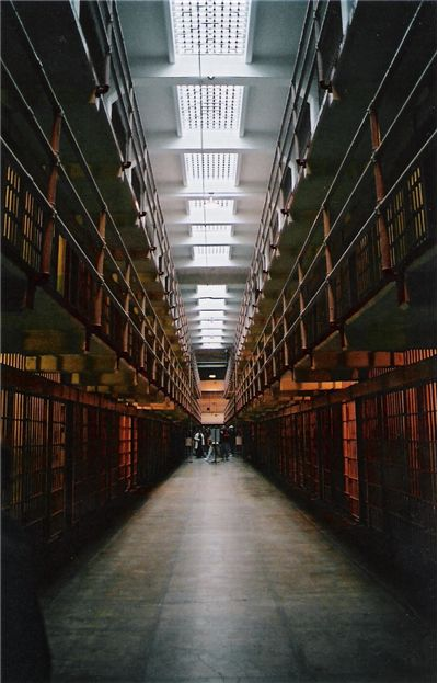 Picture Of Inside Alcatraz