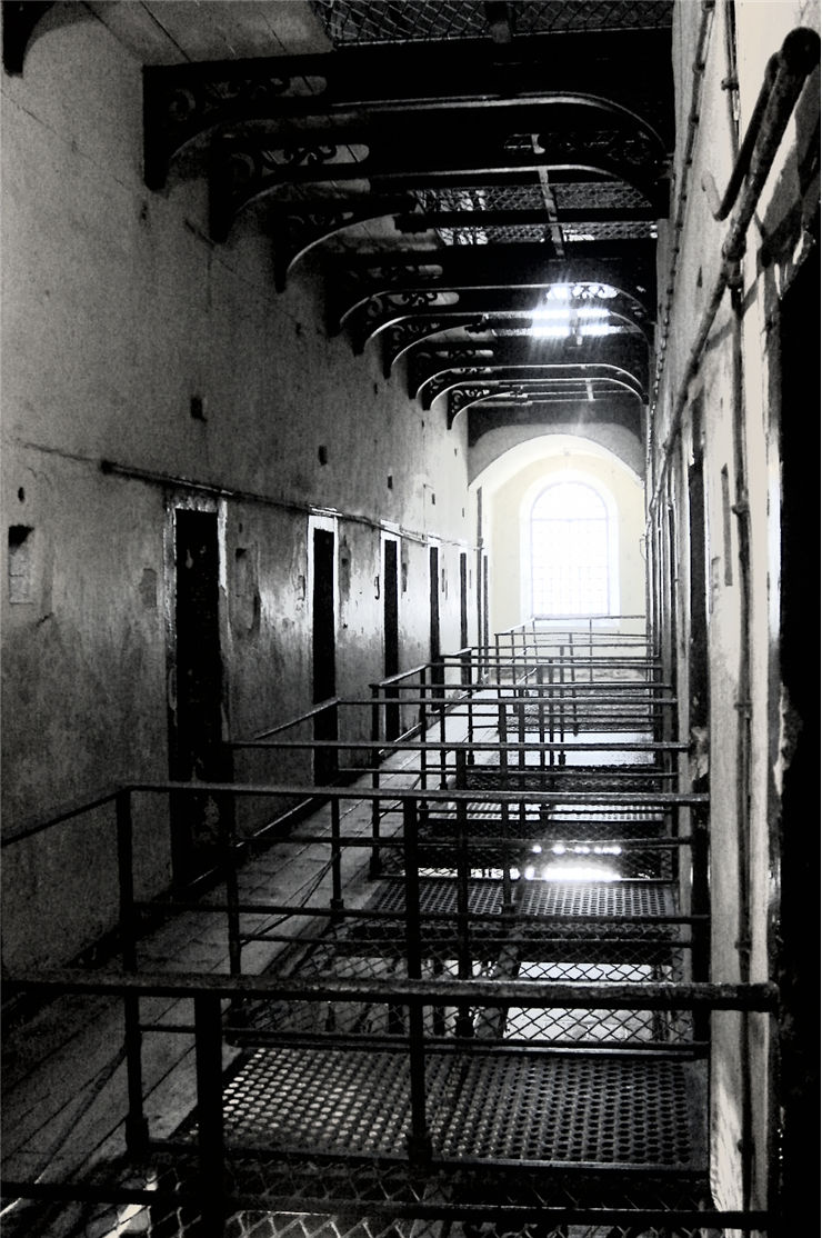 Picture Of Old Prison In Dublin