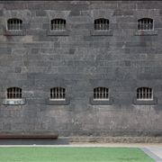 Picture Of Windows Of Prison Cells